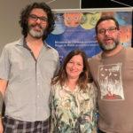 Miriam Ficher participa de evento em Belo Horizonte.